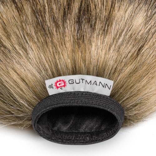 Gutmann micrófono protección contra el viento para Roland r-09 HR Premium Edition Wolf