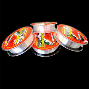 Super-Strong-Fishing-Tackle-Line-100m-Japanese-Nylon-Transparent-Fluorocarbon-CA