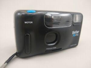 VIVITAR-PS-44-Motor-Point-039-n-Shoot-35mm-film-camera-Focus-Free-DX-FREE-SHIPPING