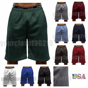 3c5da9ed2d33 Men Basketball Shorts Mesh Dri-Fit Mesh GYM Jogger Workout Big ...