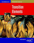 Transition Elements by David Acaster (Paperback, 2001)