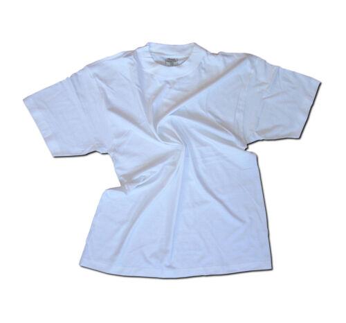 48x Shirts Weiß V-Neck Rundhals Tshirts S-XXL Restposten Unisex Baumwolle