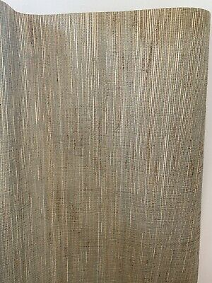 "Double Roll New 36/"" Grasscloth Imperial Wallcoverings Wallpaper Pattern KD268"