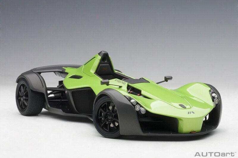 las mejores marcas venden barato Autoart Bac Mono verde Metálico Metálico Metálico 2011 Compuesto Modelo 1 18 Escala Nuevo   autorización