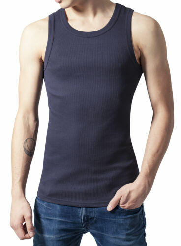 Urban Classics Tank-Top Achselshirt Slim Fit Fitness-Shirt Muskelshirt TB066