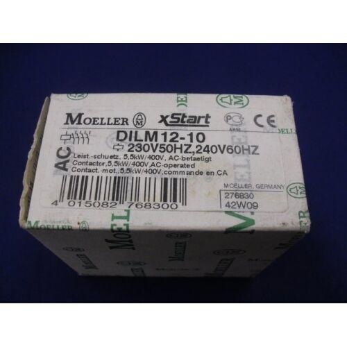 Contactor DILM12-10-240 Moeller 5.5kW 230VAC DILM12-10-230