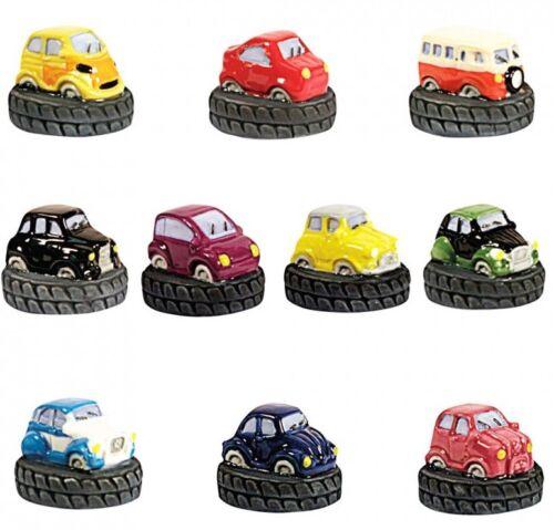 2011 FEVE SUR PNEU 3D LES PNEUMOBILES FIAT RENAULT CITROEN 2CV AUSTIN VW BMW