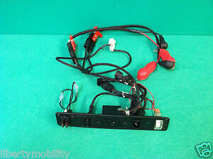 battery wiring harness w cover for pride jazzy 1122 power. Black Bedroom Furniture Sets. Home Design Ideas