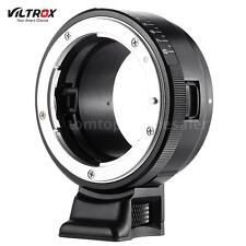 VILTROX NF-NEX Mount Adapter Ring for Nikon G/F/AI/S/D Lens to Sony Camera A2D3