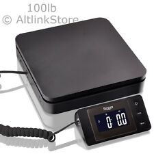 Saga 100 Lb X 01 Oz Digital Postal Scale For Shipping Weight Postage Withac 45 Kg