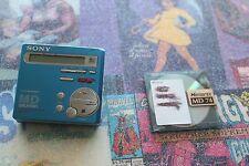 SONY MZ-R70 Walkman Portable MiniDisc Recorder/Player w/ 1 MiniDisc WORKING
