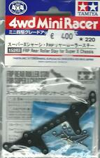 TAMIYA ACCESSORI MINI 4WD PIASTRA FRP POSTERIORE FRP REAR ROLLER STAY  ART 15243