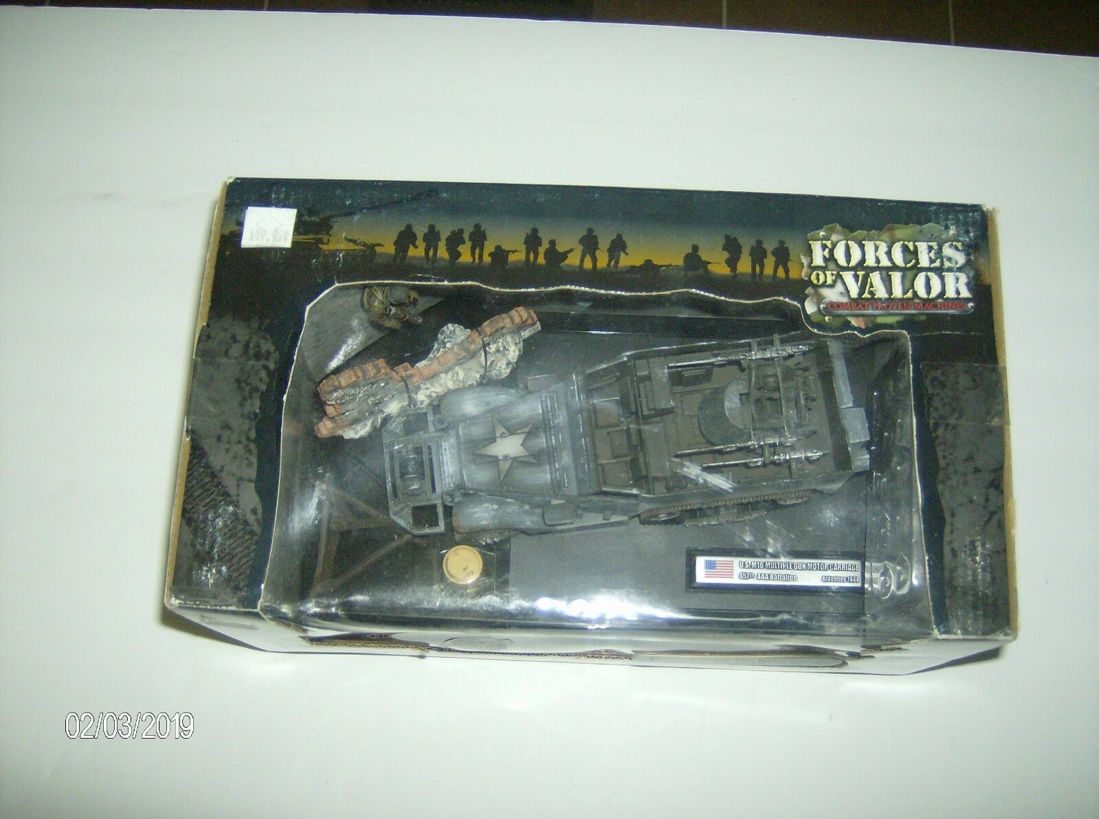 Forces of Valor  81203 U.S. M16 Multiple Gun Motor Carriage Ardennes 1944 1 32