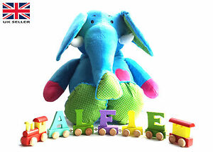 Brand-New-Wooden-Alphabet-Color-Train-Letters-Personalised-Name-as-Children-Gift