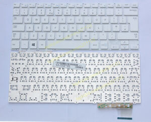 For Samsung 915S3G NP915S3G 915S3G-K02 NP915S3G-K02CN series Keyboard white UK