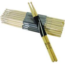 4 Paar DIMAVERY DDS-5B Drumsticks, Ahorn Maple Schlagzeug-Stöcke Sicks Trommel