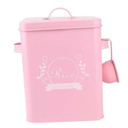 Waschmittel Pulver Aufbewahrungsdose Box w Scoop Pink