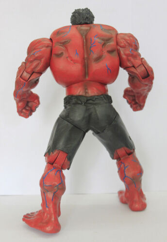 Marvel Universe Avengers Incredible RED HULK Action Figure Toy Doll 25CM