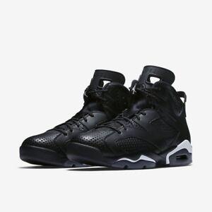 e7eecf32afb Brand New Mens Air Jordan 6 Retro 384664-020 Black Size 11 No Lid ...