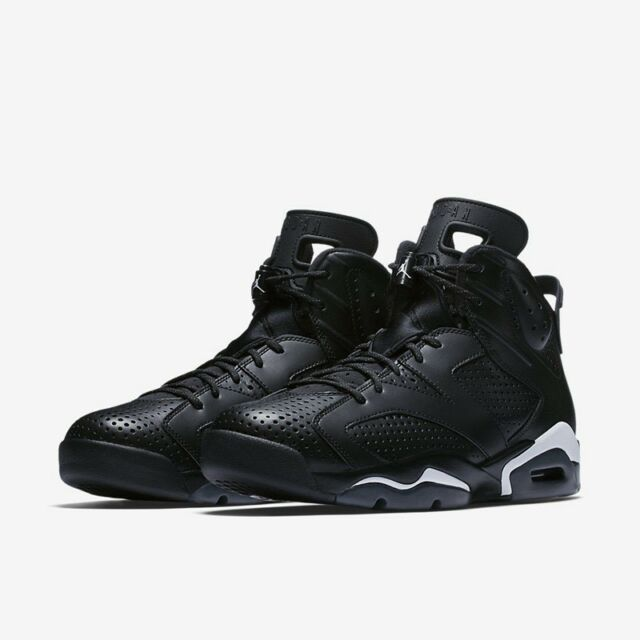b90ee563d298a Nike Air Jordan 6 VI Retro Black white Size 11 DS 384664 020 for ...