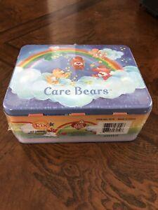 Care-Bears-Rix-Production-LLC-CO-Tin-Metal-Box-Lunch-Box-BNWT