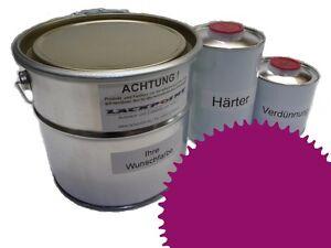 3 Liter Set 2K Floor Color Floor Ral 4006 Vinyl-Epoxid-Lack Lackpoint Shine