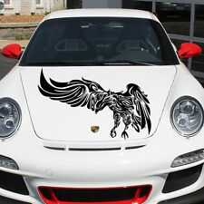 Car Hood Decal Eagle Bird Murals Predator Flying Art Tattoo Decor Patterns MR39