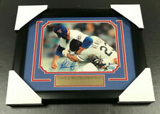 Nolan Ryan Autographed 8x10 Photo Fight Vs Ventura Framed Texas Rangers BAS COA