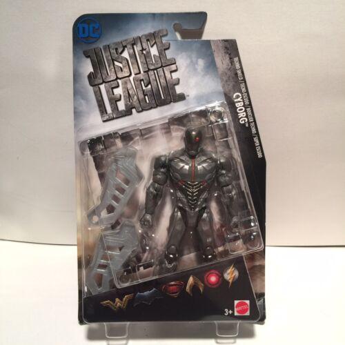 Mattel 2018 DC Justice League Techno Shield Cyborg Figure NEW