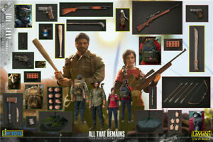 LIMTOYS LMN006 1//12 The Last of Us Jol/&Elly Collection Figure Full Set
