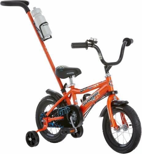 """Kids Bikes Petunia/&Grit Steerable Featuring Push Handle Easy Steering 12/"""" Wheels"""