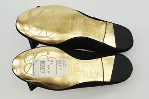 f66b3be7931661  185 NEW Ted Baker Etaj Black Suede Ballet Flats 6   37 Ballerina ...