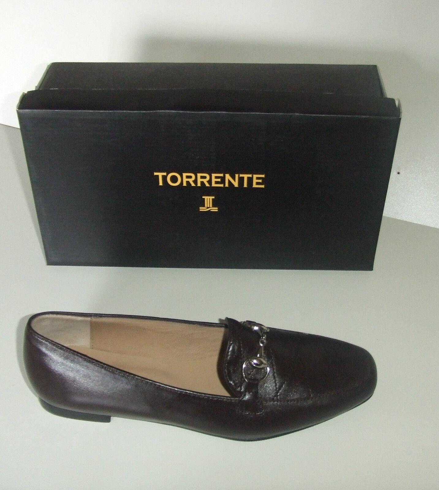 TORRENTE shoes PLATES EN CUIR POINTURE 40 brown