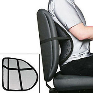 chair lumbar back support posture van sit office right seat reduce