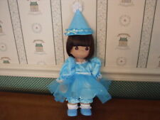 "PRECIOUS MOMENTS 12"" DOLL-BIRTHDAY BLESSINGS-BRUNETTE-NEW"