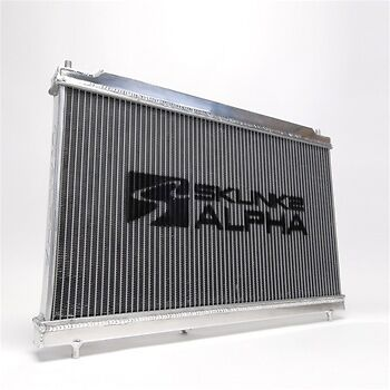 Skunk2 Racing Alpha Aluminum Radiator 06-11 Honda Civic Si 8th Gen FA//FG