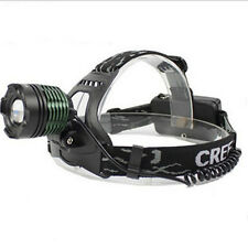 1800Lumens Cree XM-L T6 LED Stirnlampe Zoomable Kopflampe Headlight 2x18650