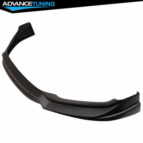PP Fits 17-18 Hyundai Elantra L Style Front Bumper Lip Unpainted Black