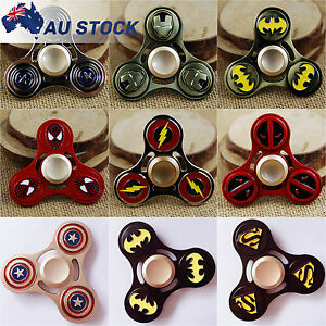 Fidget-Spinner-Superhero-Hand-Finger-Figet-EDC-Stress-Relief-Batman-Spider-man