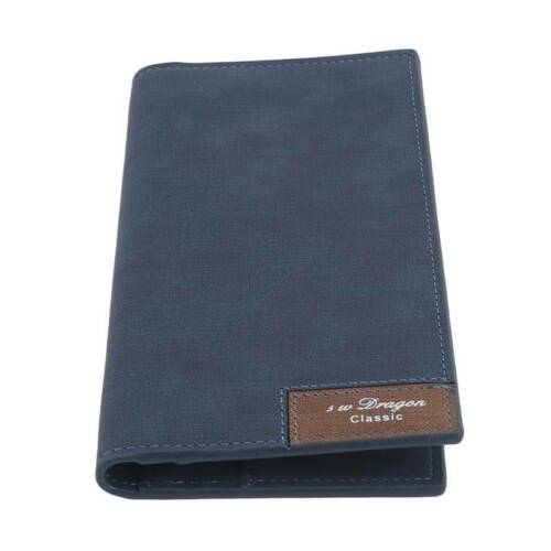 Men/'s Faux Leather Long Wallet Card Holder Checkbook Purse Large Capacity Wallet