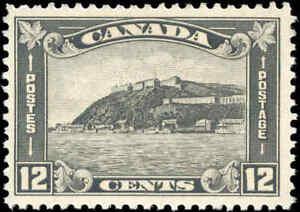 1930-Mint-H-Canada-F-VF-Scott-174-12c-King-George-V-Arch-Leaf-Stamp