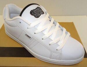 b1fed8d33933 OSIRIS Troma Redux Men s Casual Skateboarding Shoes White Black Med ...