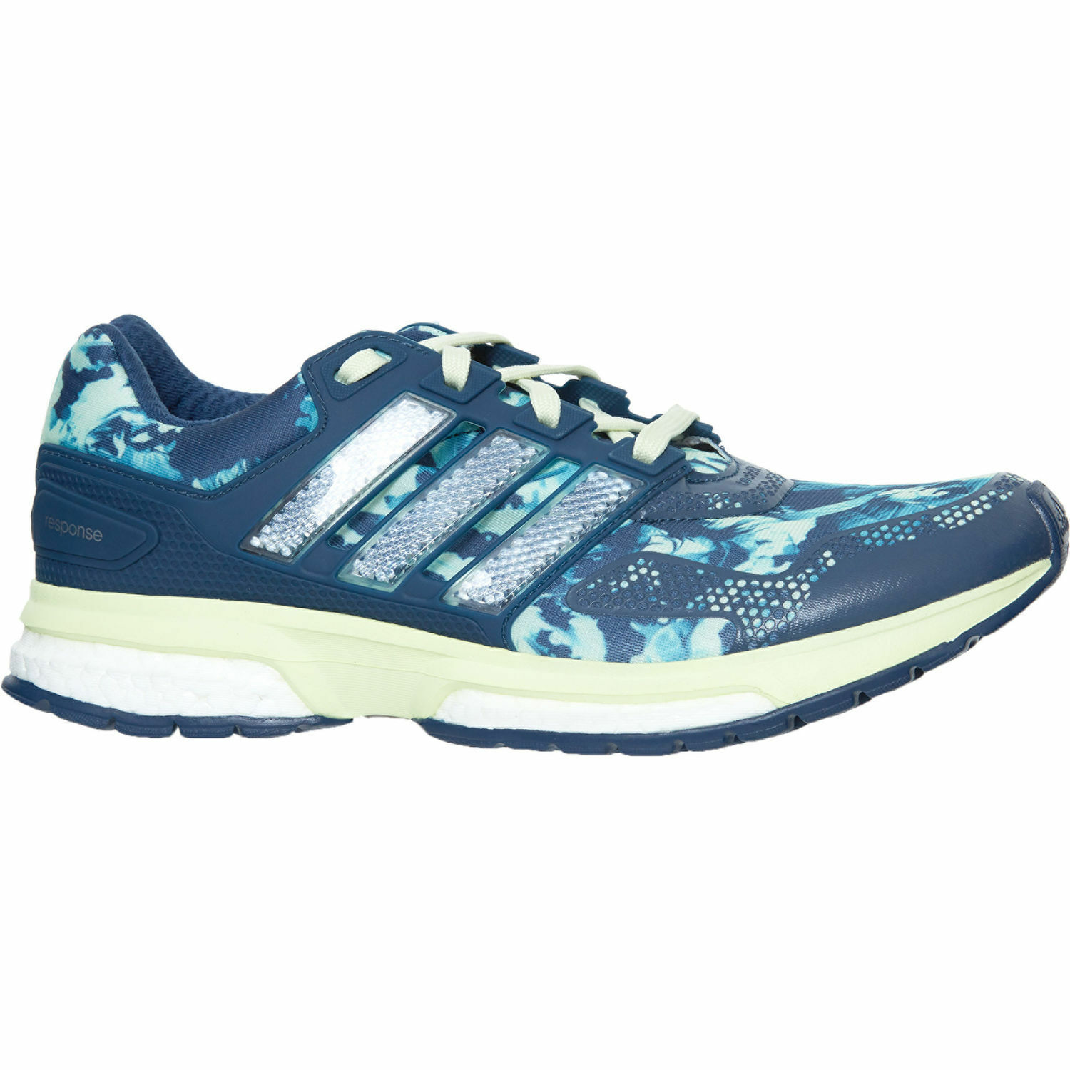 ADIDAS  Green & Navy Response 2 Trainers - size  order now enjoy big discount
