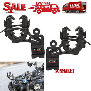 ATV-Gun-Rack-Shotgun-Bow-Holder-Single-Grip-Rifle-Pole-Mount-Automotive-Grips
