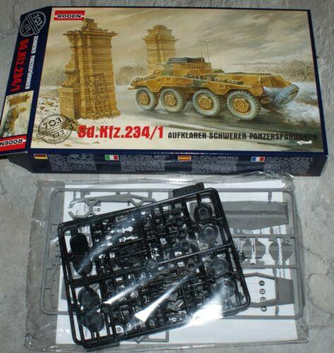 Sd.Kfz 234//1 8x8 Radpanzer Roden 1//72