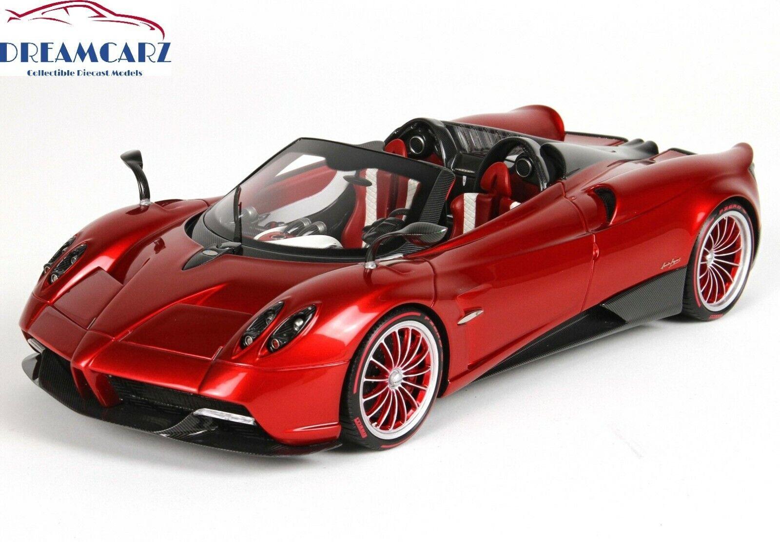 BBR 2017 PAGANI HUAYRA Roadster 1 18 P18148C-Limited 50 pcs