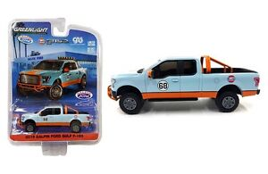GREENLIGHT-2016-GALPIN-FORD-GULF-F-150-PICK-UP-TRUCK-EXCLUSIVE-1-64-CAR-in-stock