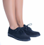 Women/'s Ladies Low Heel Lace Up Office Smart Oxford Brogues Ankle Boots Shoes