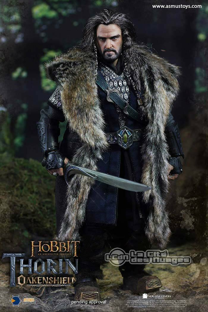 The Hobbit Thorin Oakenshield Richard Armitage 1 6 Figura 27cm Asmus Juguetes HOBT06