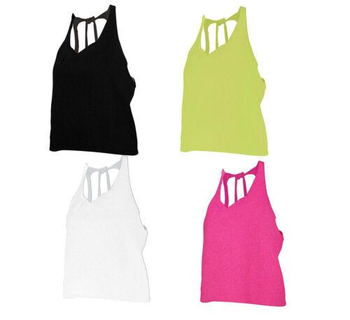 Damen Top Sommer Bluse weit geschnitten zum Binden kurz geschnitten